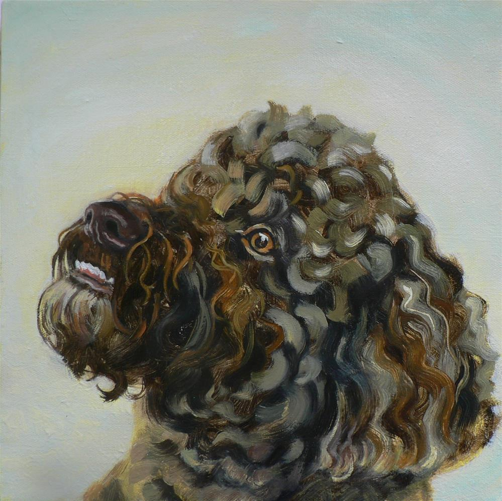 """Jake"" original fine art by Leigh Buchanan"