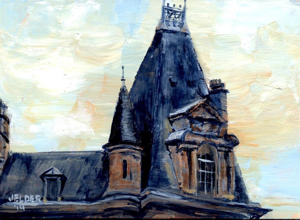 """Paris No. 17"" original fine art by Judith Elder"
