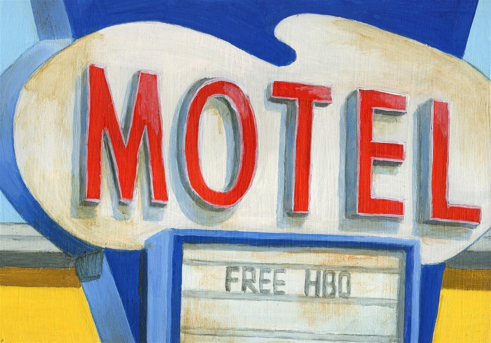"""Free HBO"" original fine art by Debbie Shirley"