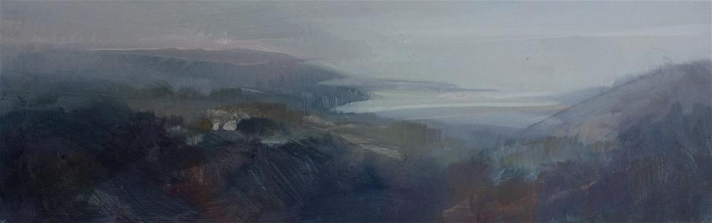 """""""Evening Mist"""" original fine art by Anne Wood"""