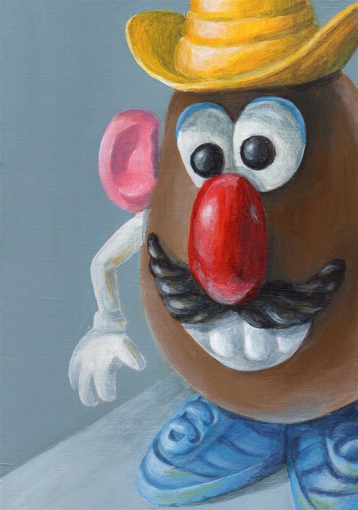 """Howdy!"" original fine art by Debbie Shirley"