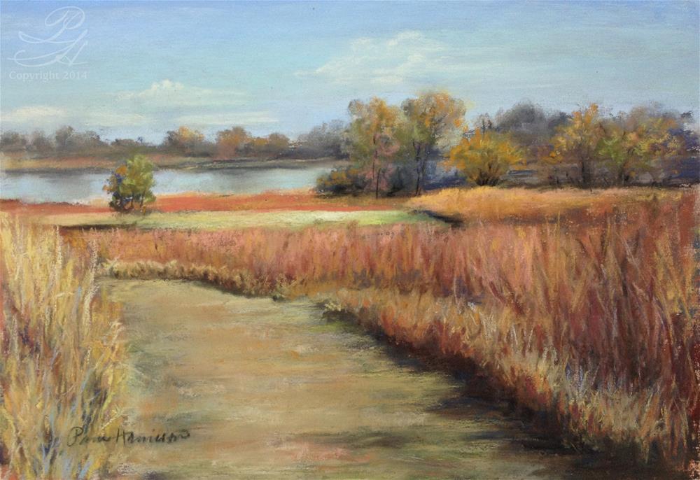 """Peck Farm Trail"" original fine art by Pamela Hamilton"