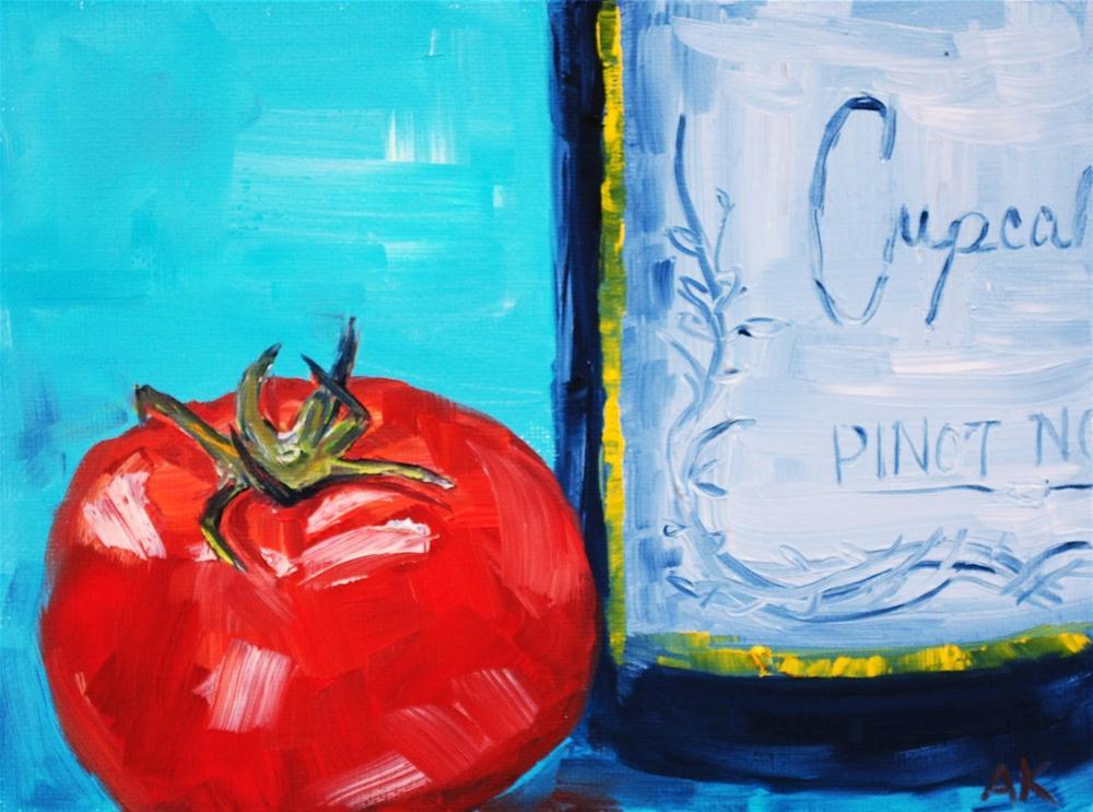 """Date Night"" original fine art by Alison Kolkebeck"