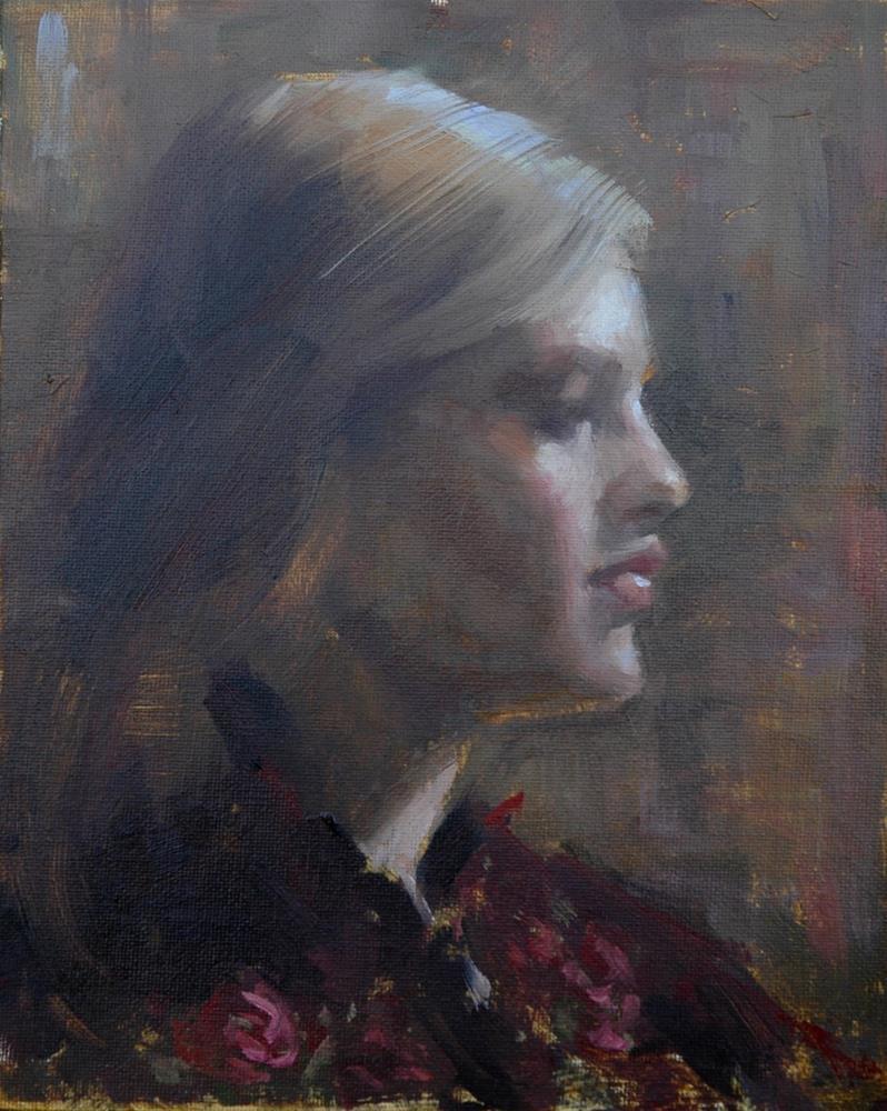 """""""Grace"""" original fine art by Johanna Spinks"""