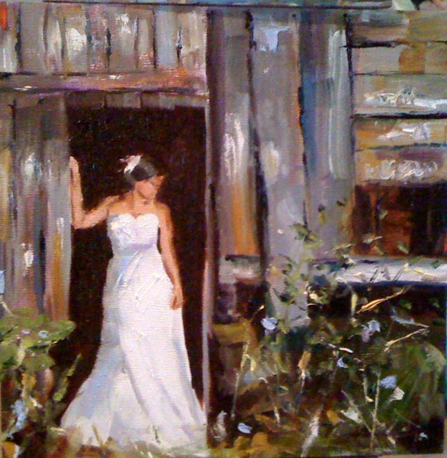 """Jenna"" original fine art by Marcia Hodges"
