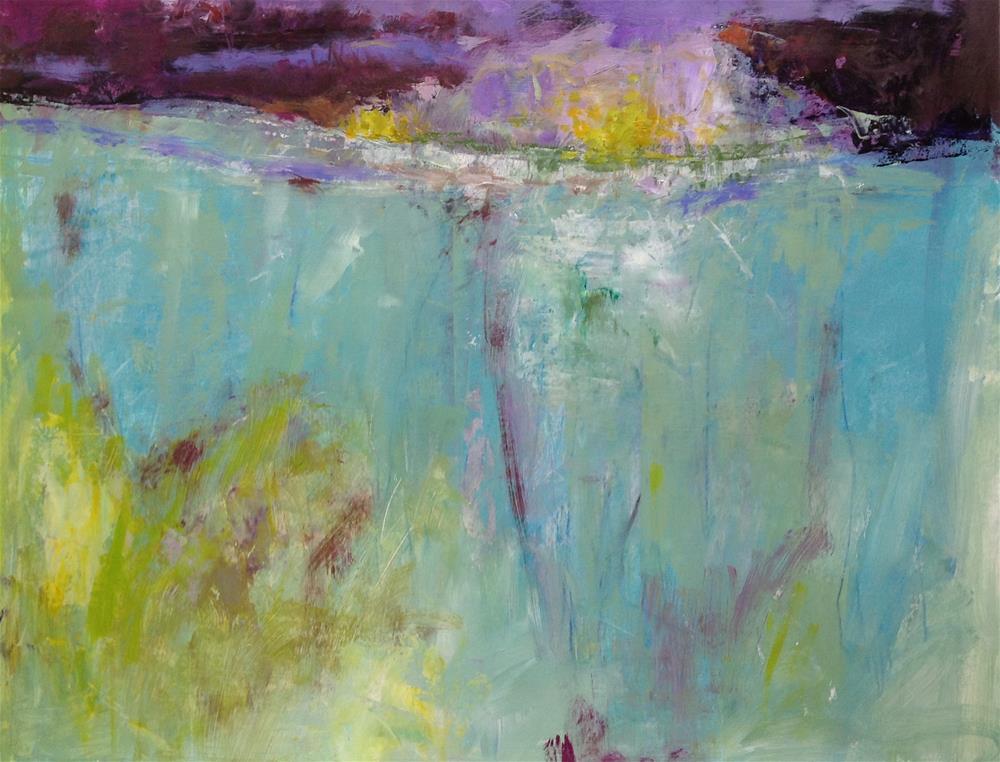 """Lochinver at Night"" original fine art by Patricia MacDonald"