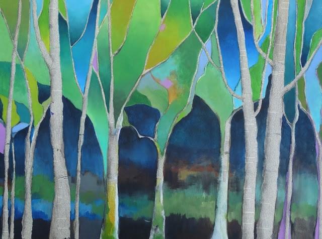 """""""Hope Springs Eternal"""" original fine art by Anne Ducrot"""