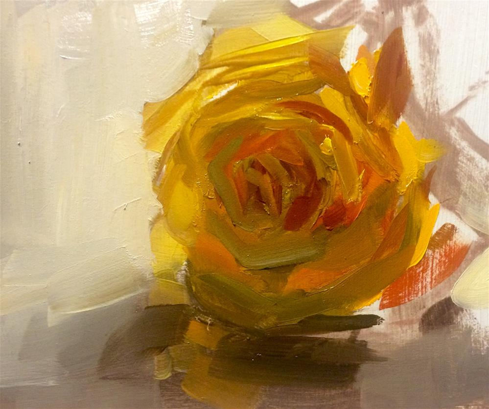 """Rose Study"" original fine art by Thomas Ruckstuhl"