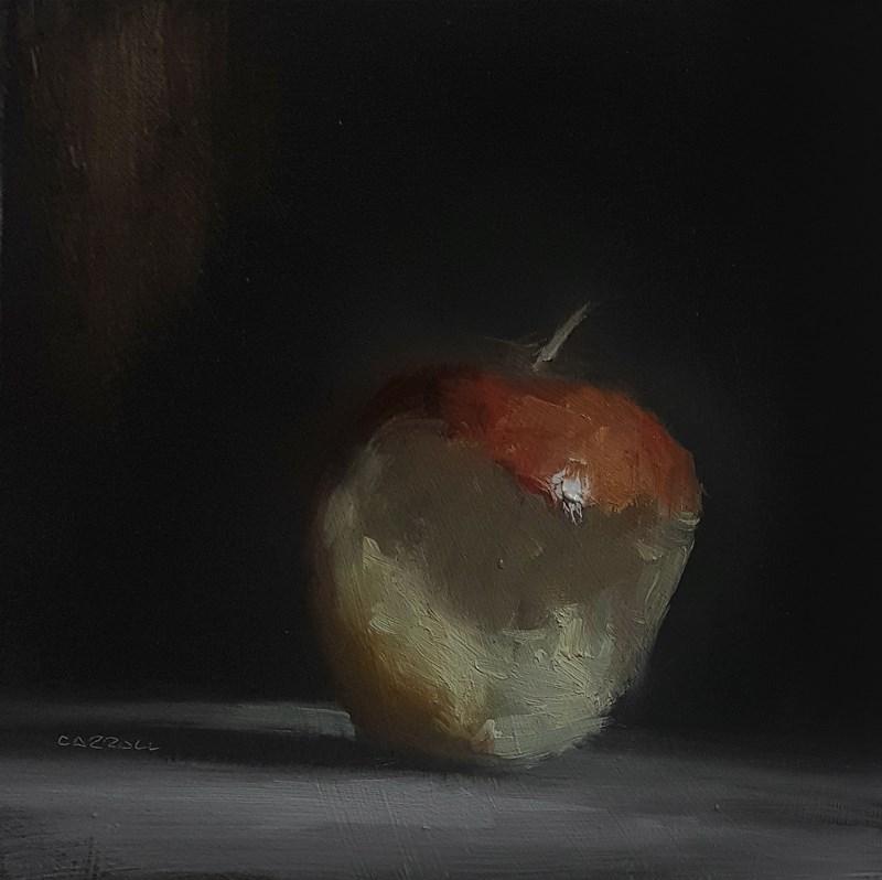 """""""Half an Apple"""" original fine art by Neil Carroll"""