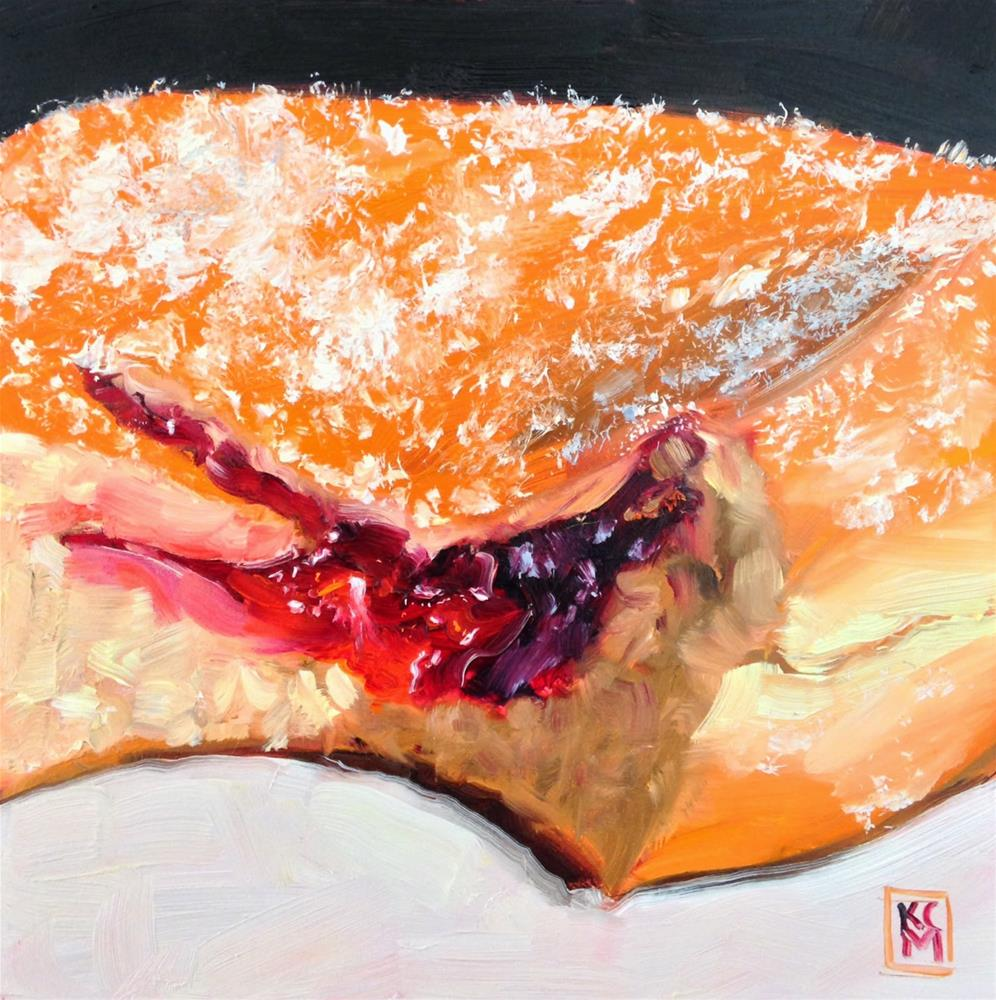 """Long Time Gone... and Big Bite, 6x6 oil painting by Kelley MacDonald"" original fine art by Kelley MacDonald"
