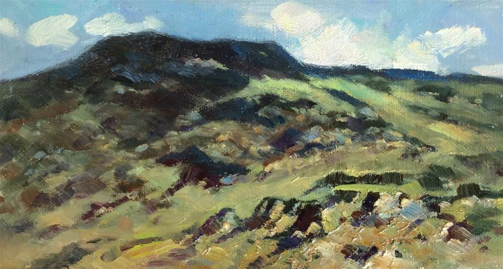 """In the Snowdonia National Park"" original fine art by John Shave"