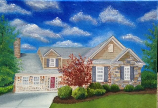 """""""James Place"""" original fine art by Susan Hoffheimer"""