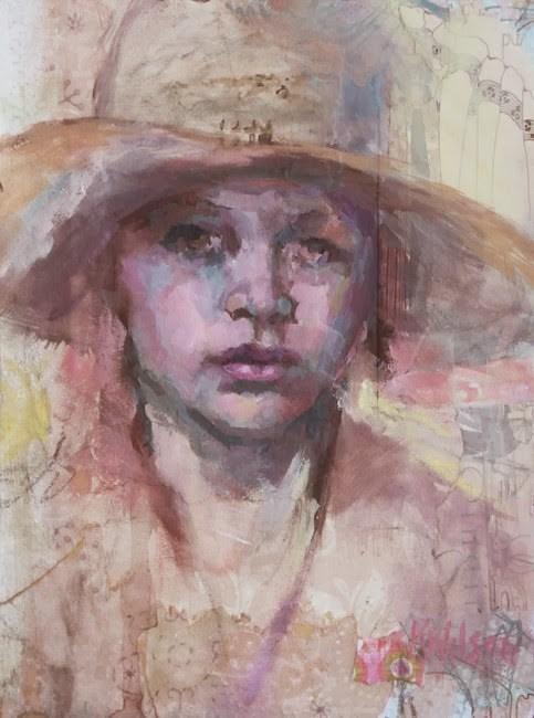 """Ten Gallon"" original fine art by Katie Wilson"