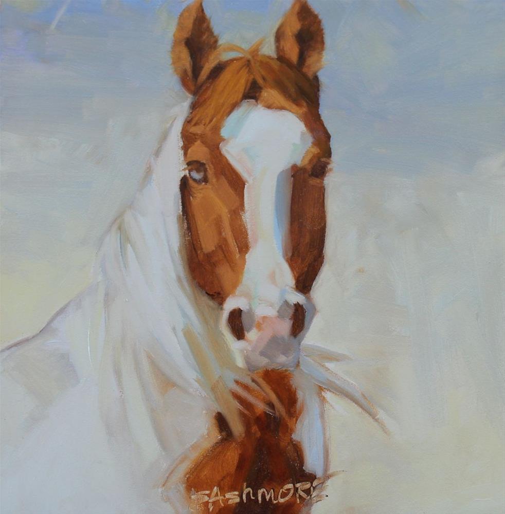 """On Alert"" original fine art by Susan Ashmore"