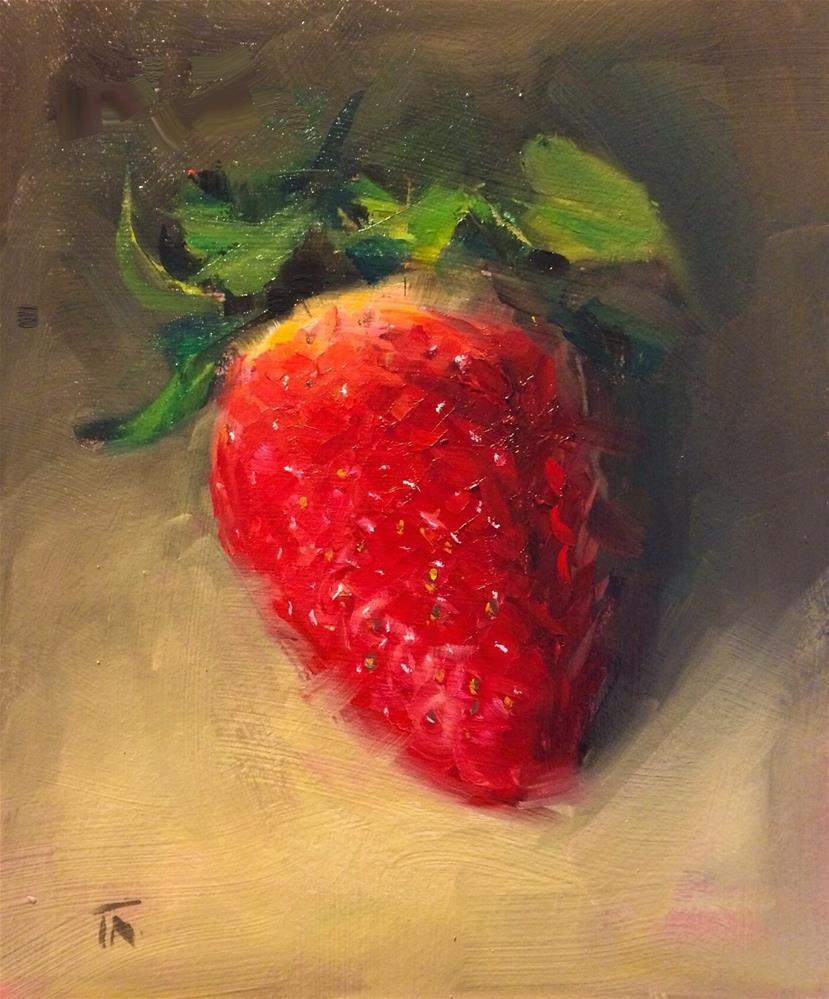 """The Bletting"" original fine art by Thomas Ruckstuhl"