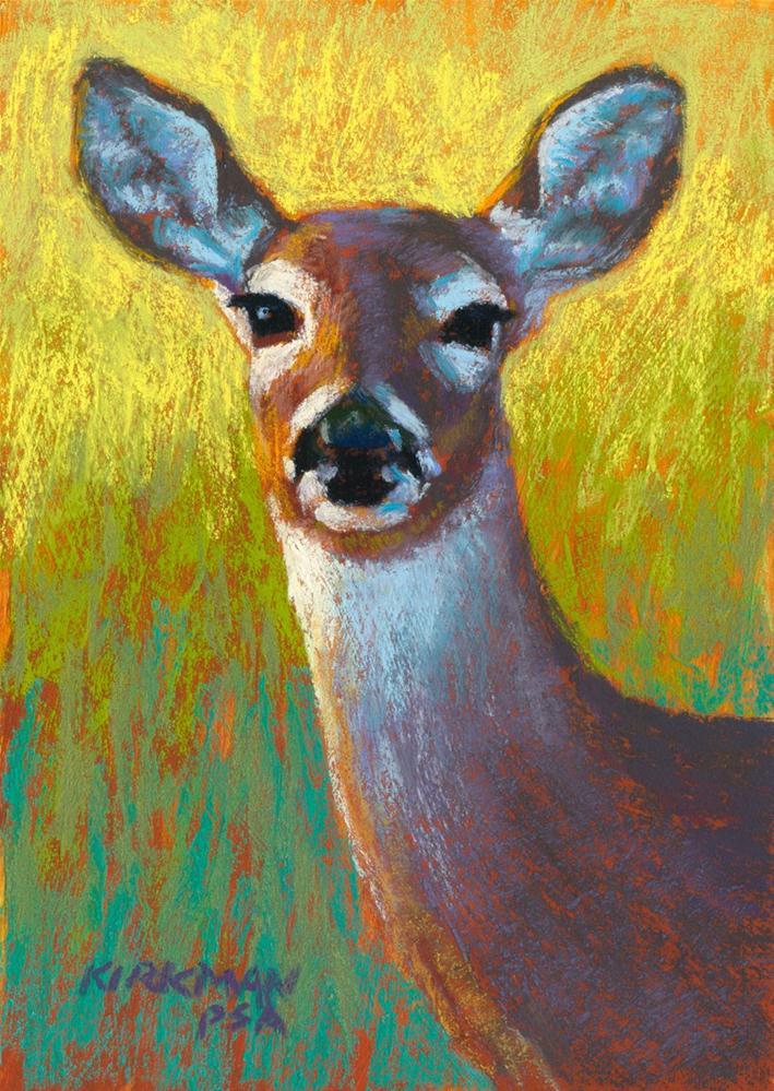 """Doe"" original fine art by Rita Kirkman"