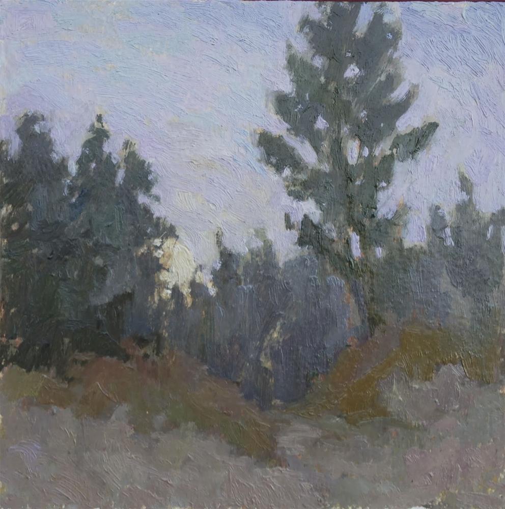 """Moonscape"" original fine art by Eden Compton"
