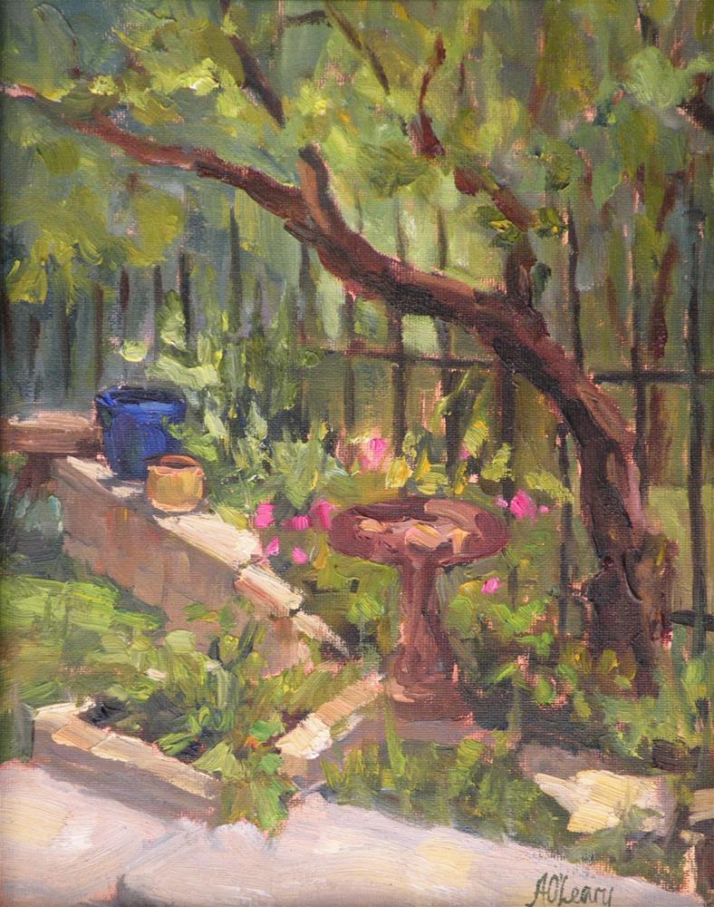 """""""Carlene's Garden"""" original fine art by Alice O'Leary"""