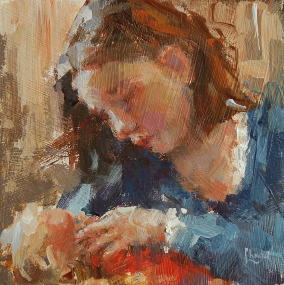 """""""Nurture"""" original fine art by Chantel Barber"""