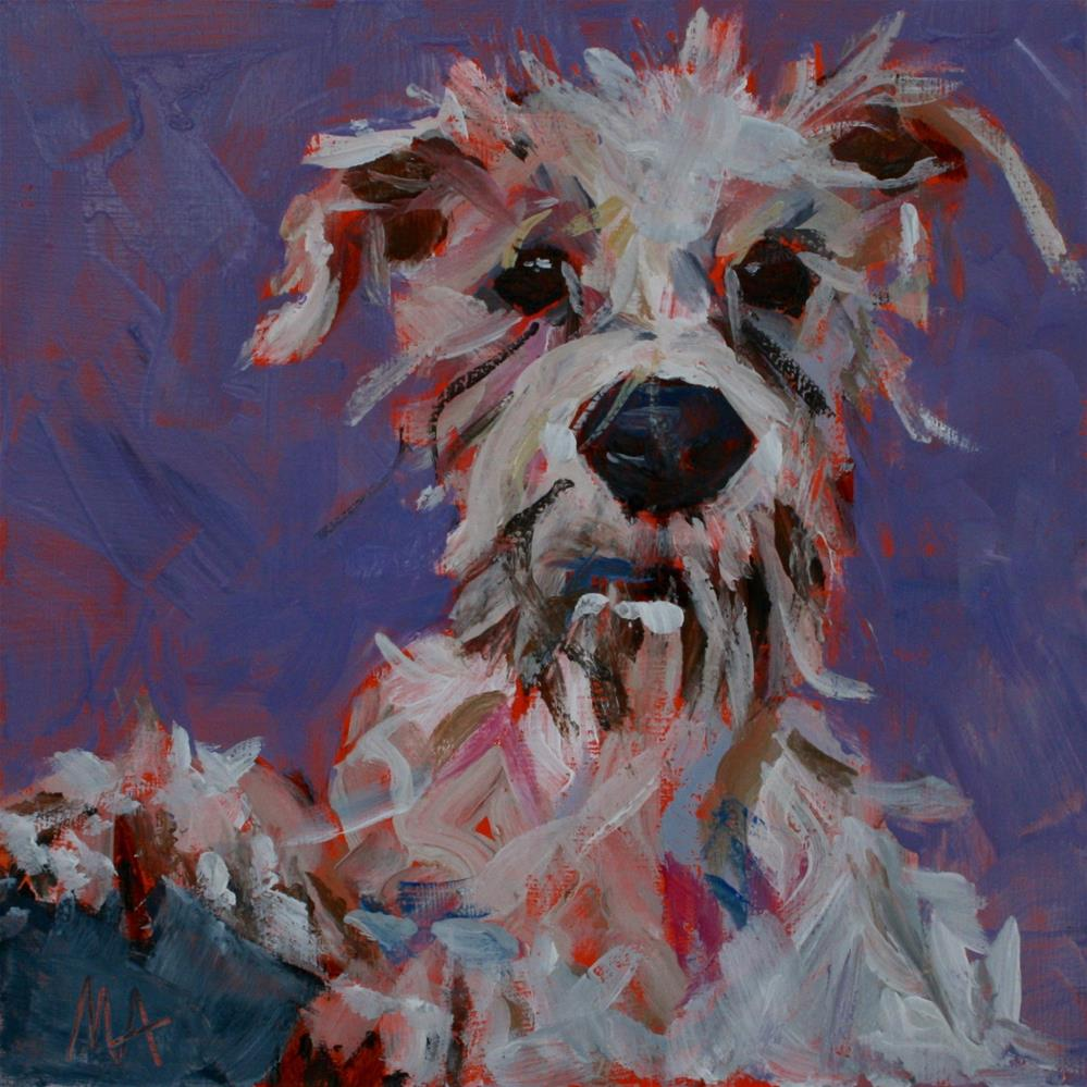 """Wet Fur"" original fine art by Aniko Makay"