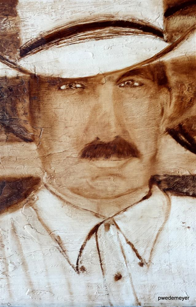 """The Cowboy"" original fine art by Pamela Wedemeyer"