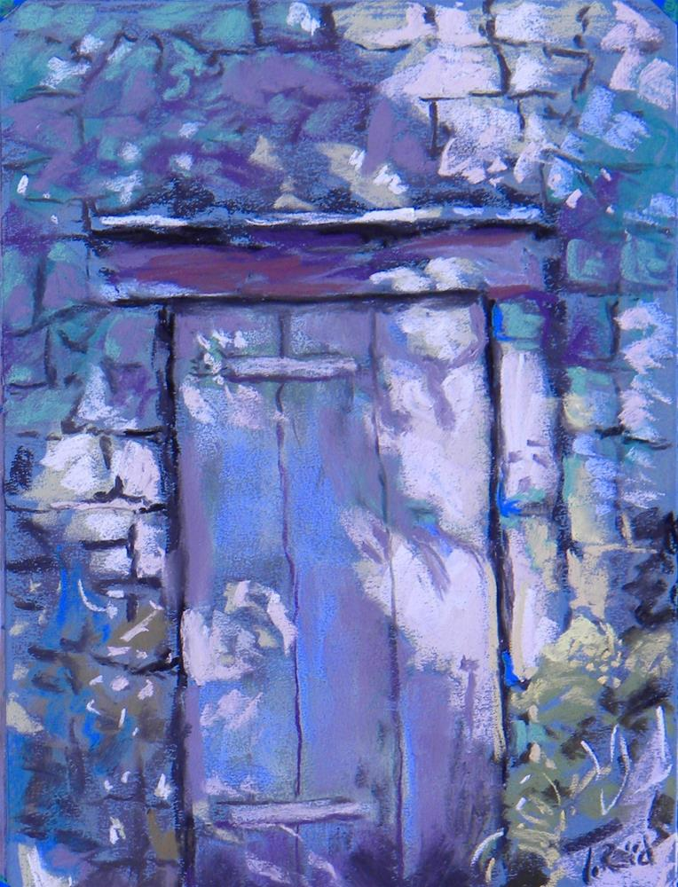 """Shadow Door"" original fine art by Toby Reid"