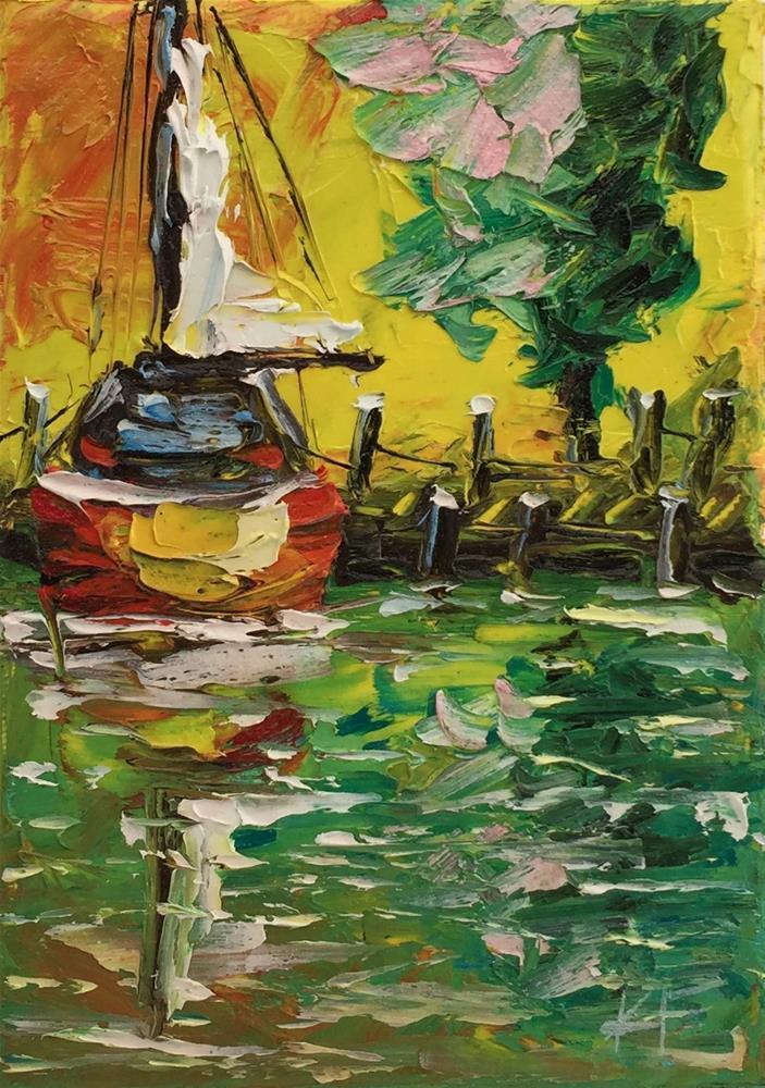 """Good Morning"" original fine art by Ken Fraser"