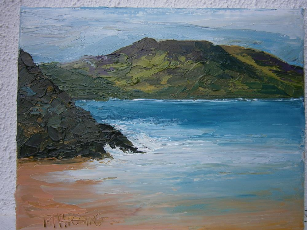 """COUNTY DONEGAL"" original fine art by Marie O' Higgins"
