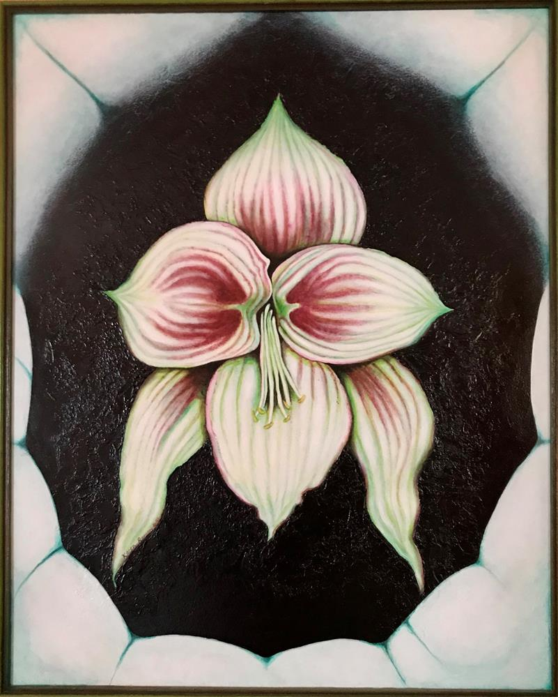 """Birth"" original fine art by Karen Roncari"