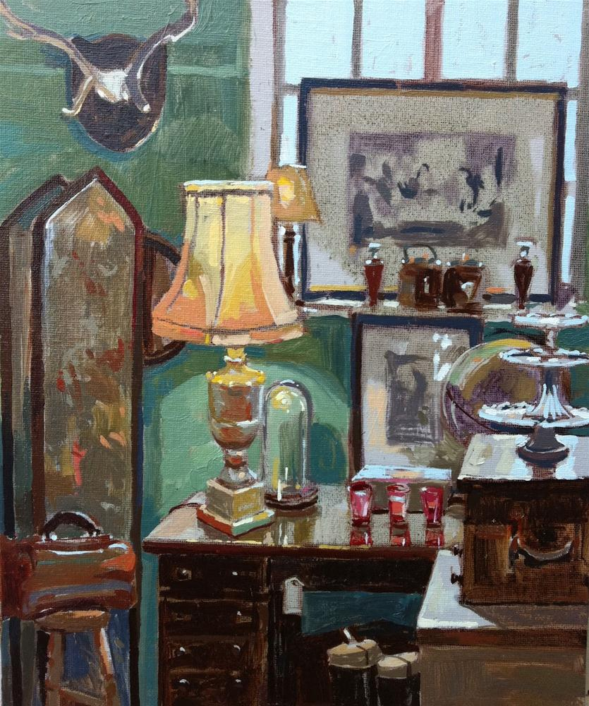 """Corelli antiques"" original fine art by Haidee-Jo Summers"