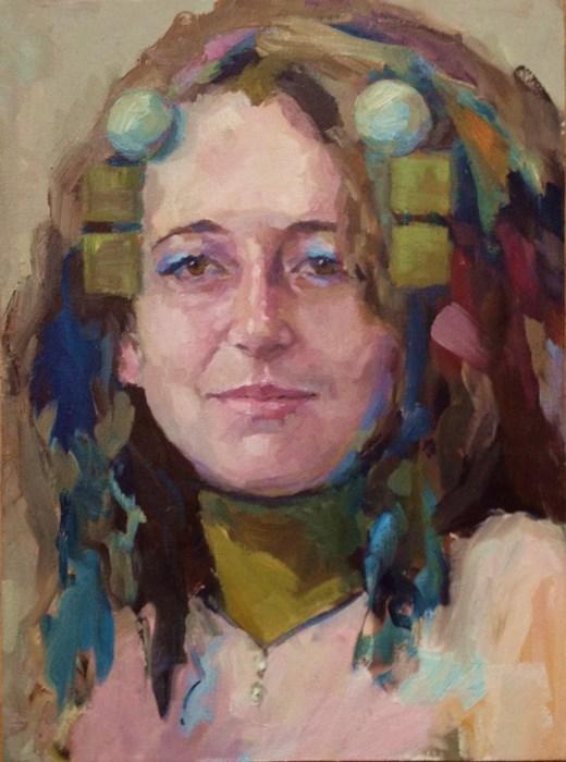"""Squares"" original fine art by Katie Wilson"