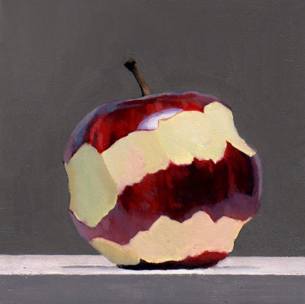 """#360 Braeburn Peel #5"" original fine art by Brian Burt"