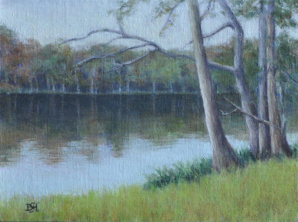 """A Fall Day"" original fine art by Debra Heard"