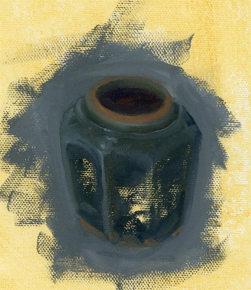 """Ginger Jar Study I"" original fine art by Susanne Billings"