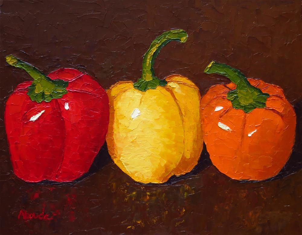 """Three Amigos"" original fine art by Sandy Abouda"