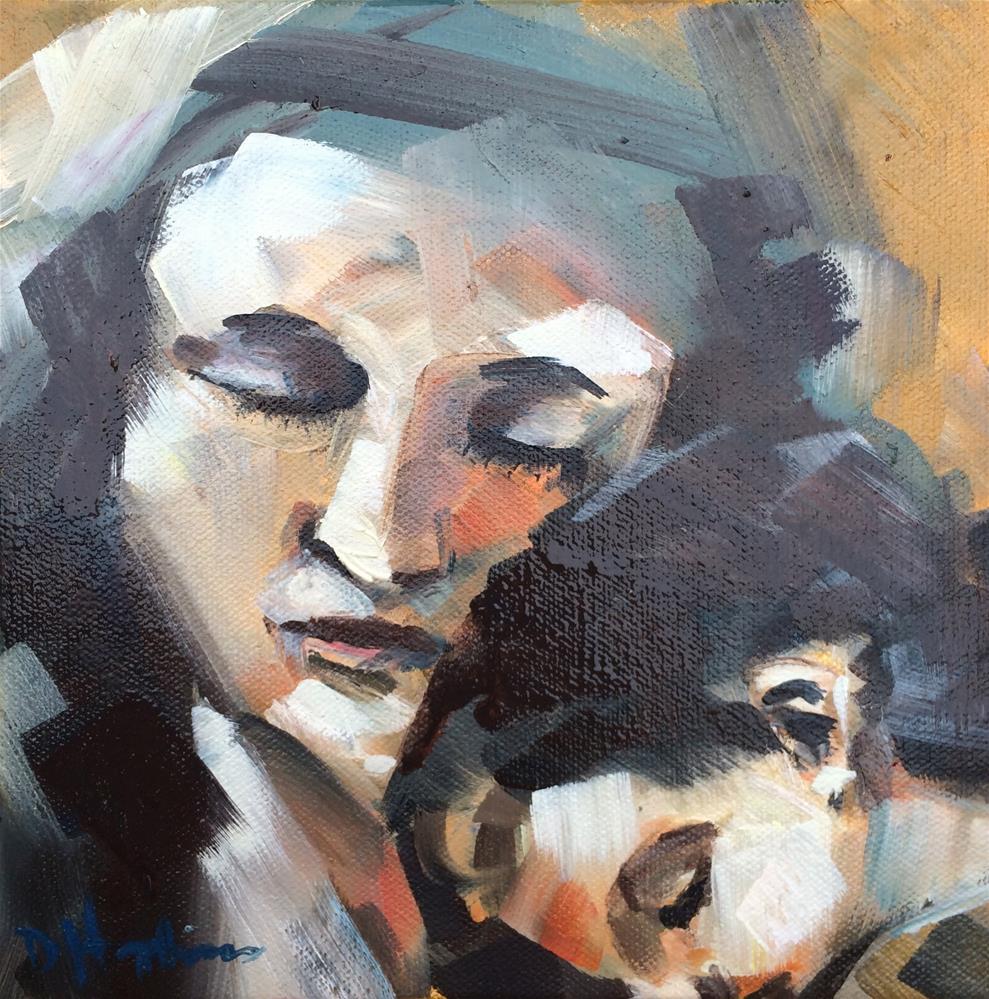 """Advent"" original fine art by Denise Hopkins"
