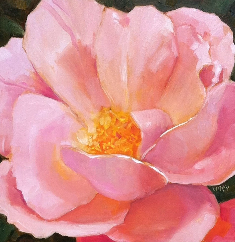 """Rylee's Rose"" original fine art by Libby Anderson"