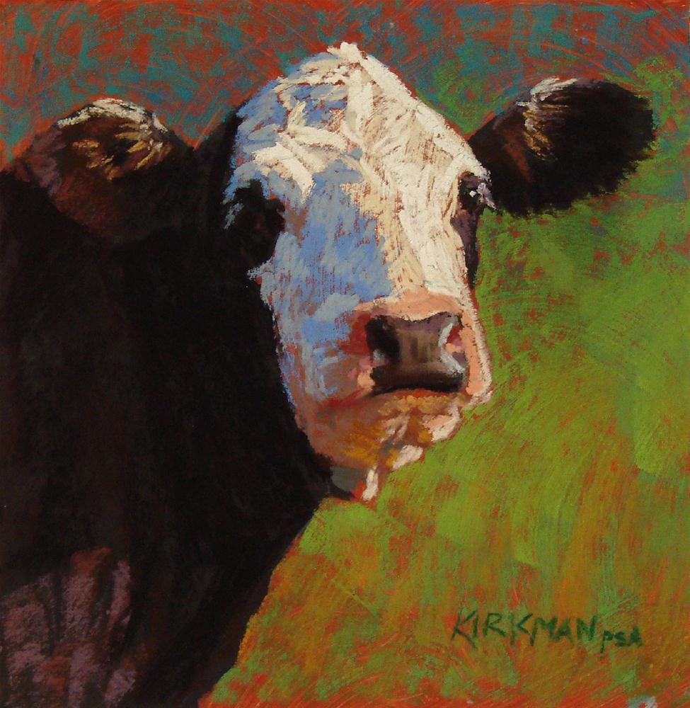 """Ruby (and the workshop)"" original fine art by Rita Kirkman"