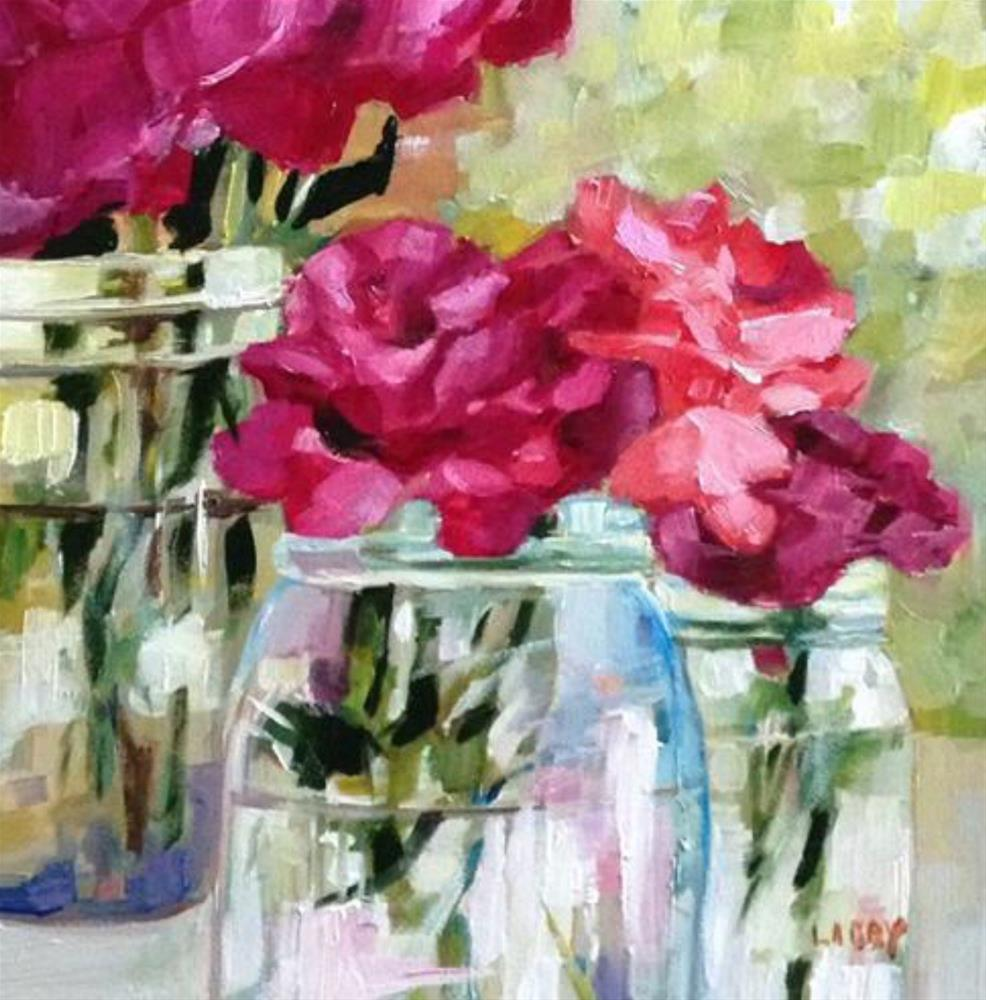 """Rose Clarity"" original fine art by Libby Anderson"