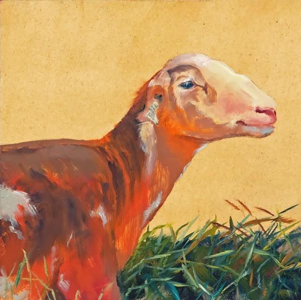 """""""Outstanding In Her Field"""" original fine art by Brenda Ferguson"""