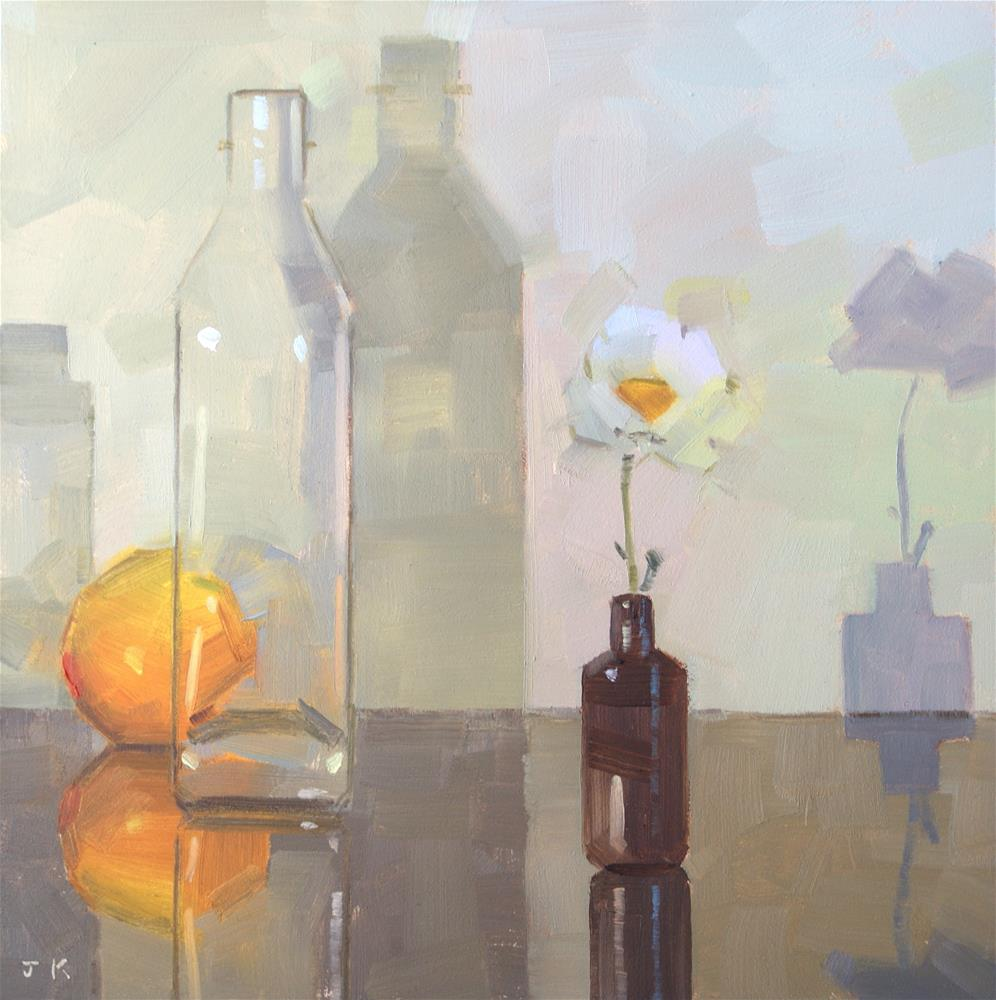 """Quiet"" original fine art by Jiyoung Kim"