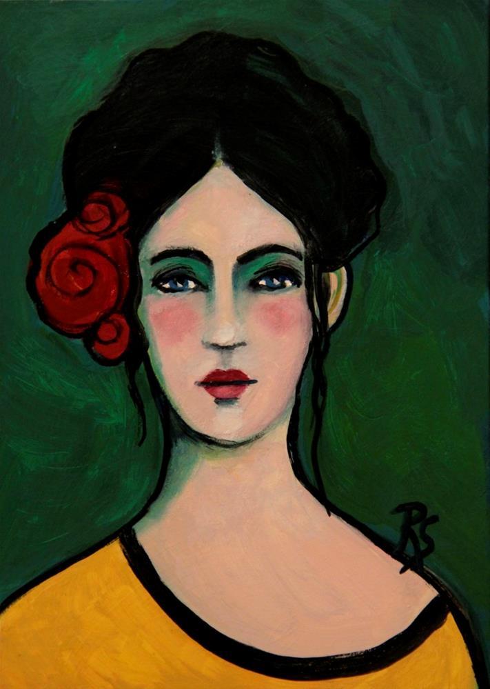 """""""Marianna"""" original fine art by Roberta Schmidt"""