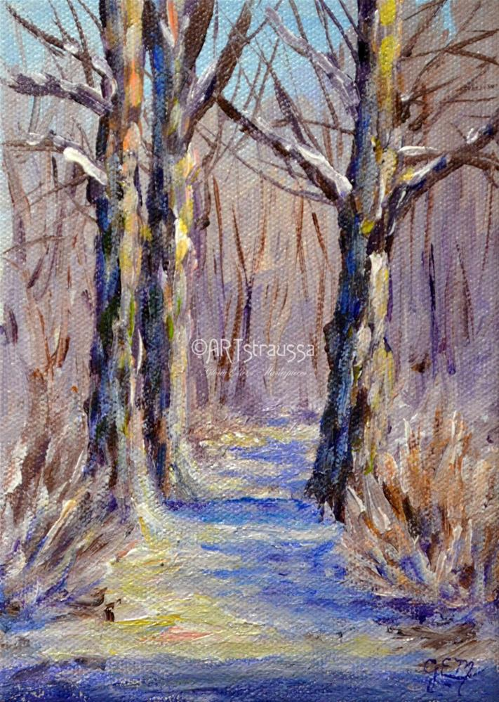 """The Netherwoods"" original fine art by Gloria Ester"