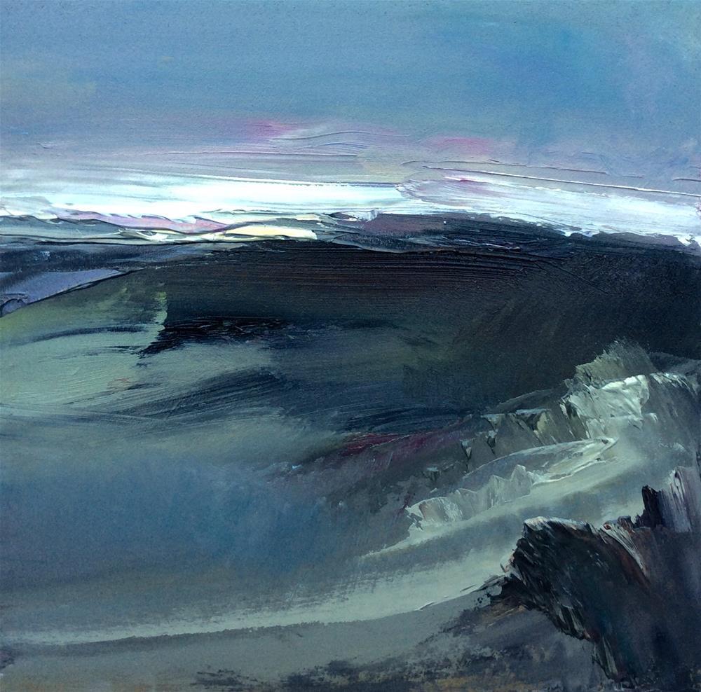 """Windswept "" original fine art by Anne Wood"