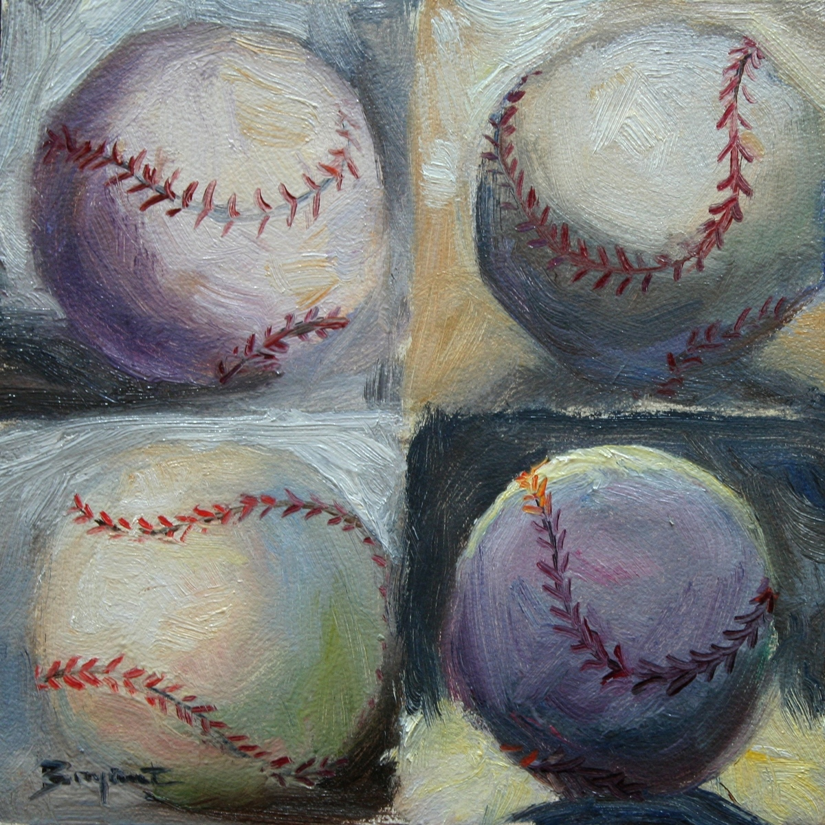 """World Series Series"" original fine art by Debra Bryant"