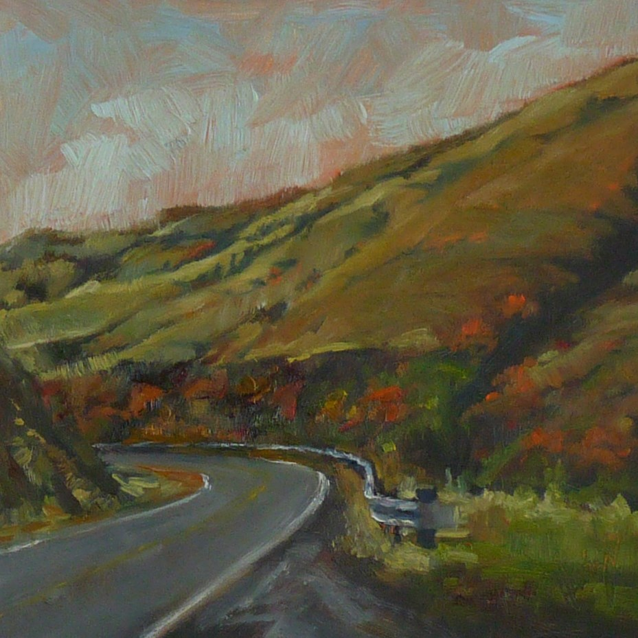 """Road Trip 2"" original fine art by Sharman Owings"