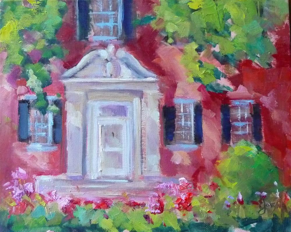 """Chatham"" original fine art by Carol Josefiak"