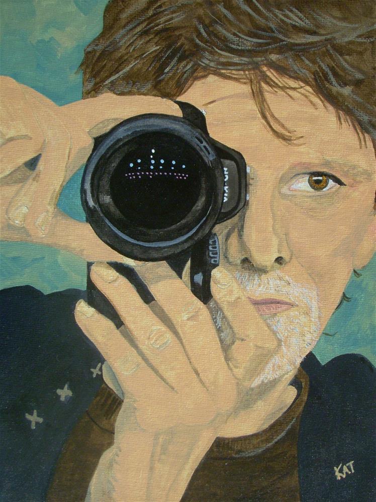 """Kishbaugh"" original fine art by Kathleen Carrier"