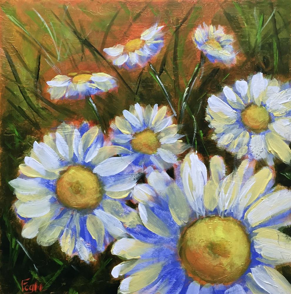 """15-16 Summer Dreaming"" original fine art by Rachel Fogle"