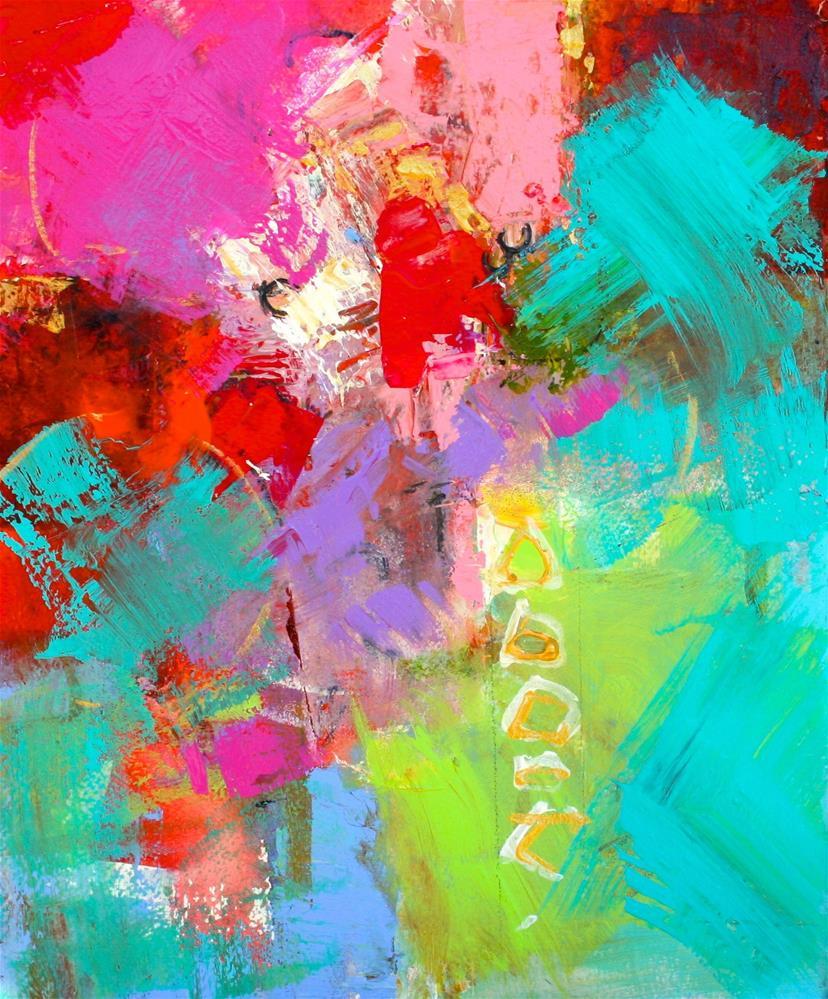 """Tres"" original fine art by Elizabeth Chapman"